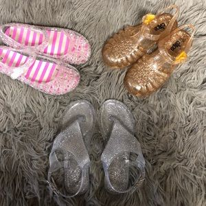 Other - Kids assorted brand jelly sandals